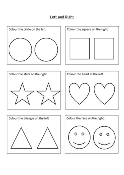 left ks1 worksheet teaching resources