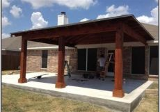 cost to build a covered patio attached to a house attached covered patio to house patios home design ideas patio decor