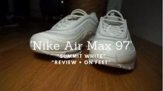 air max 97 summit white on feet nike air max 97 summit white review on