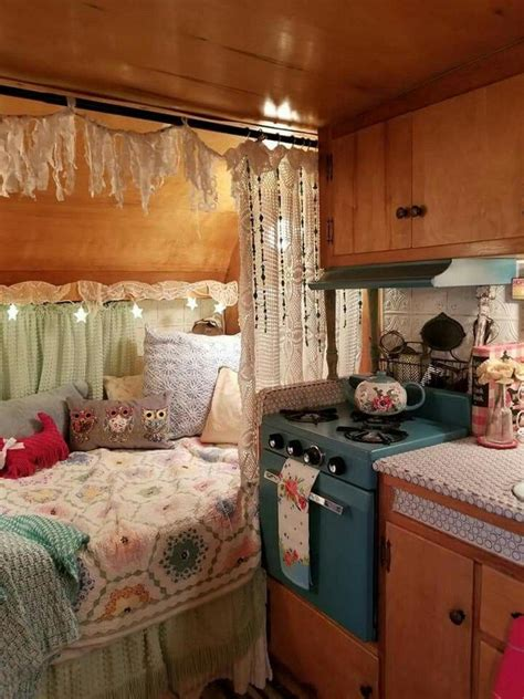 flawless 16 amazing rv cer vintage interior design