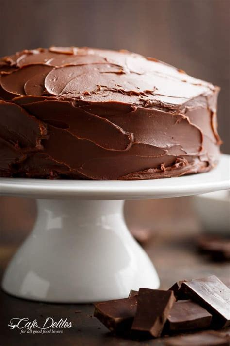 fudgy chocolate cake cafe delites chocolate fudge cake