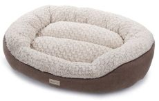 poochplanet 62007 40 x 28 x 10 restorenest memory foam bed brown dogbedideas memory foam - Poochplanet Dog Bed Cleaning