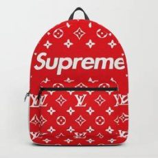 supreme x bape backpack hypebeast backpacks society6