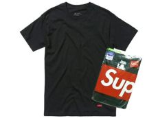supreme hanes tagless tees review only one style supreme supreme brand new black hanes tagless 3 pack t shirt all 3 pack