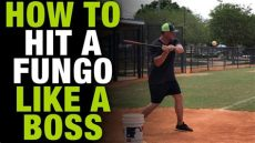 fungo baseball tryouts how to hit a fungo like a baseball coaching tips how to tuesday ep 8
