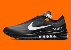nike off white air max 97 black release white nike air max 97 aj4585 001 black white cone sneakernews
