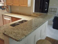 modular granite countertop kits new venetian gold granite kitchen photos