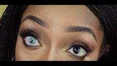 solotica contacts on dark brown eyes solotica hidrocor quartzo contact lenses for brown