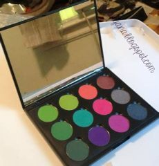 coastal scents empty palette review make up by itsuhyana 2 in 1 review and swatches coastal scents pots empty palettes