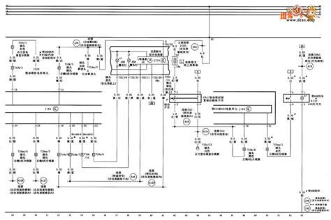 audi a6 saloon car seat circuit diagram automotive