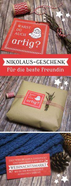 geschenkideen beste freundinnen geschenkidee f 252 r die beste freundin zum nikolaus geschenk beste freundin gutschein geschenk