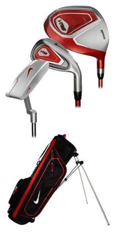nike golf kit nike vrs junior set with bag size 1 by nike golf junior golf complete sets
