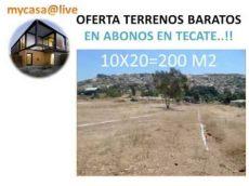 2018 la descripcion venta comprar terrenos baratos en mensualidades abonos en tecate bc - Venta De Casas Y Terrenos En Tecate Bc