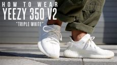 adidas yeezy triple white outfit how to wear yeezy boost 350 v2 quot white quot