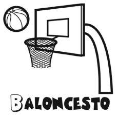 canasta de basquetbol para dibujar disfruta la vida abril 2014