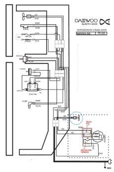 diagrama de refrigerador daewoo refrigerador daewoo fr 380 motor compresor no enciende yoreparo