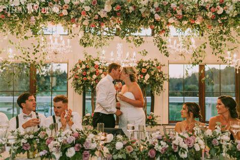 elegant garden wedding shades purple elegantwedding