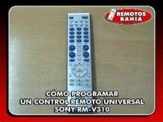 como programar un control universal para tv insignia c 211 mo programar un remoto universal sony rm v310 universal remote programming for
