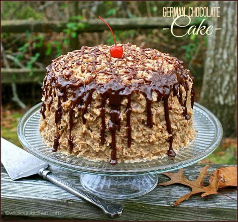 kicked german chocolate cake mix homemade coconut pecan