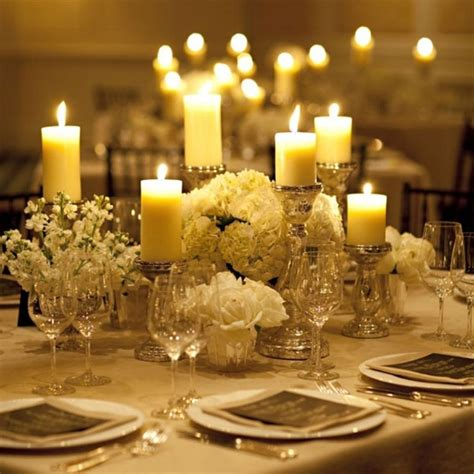 wedding table candle centerpieces ideas wedding decoration ideas