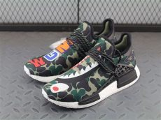 bape x adidas hu nmd boost mens camouflage bb0623 running shoes sneakers big sale - Bape X Adidas Shoes