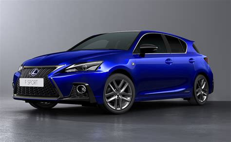 2018 lexus ct 200h facelift revealed sharpened design