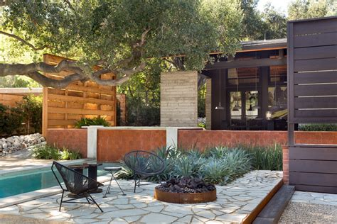 6 backyard landscape designs minimal maintenance dwell