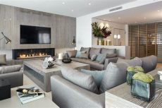 molins interiors arquitectura interior interiorismo sal 243 n recibidor e decoracion - Salas De Lujo Modernas Con Chimenea
