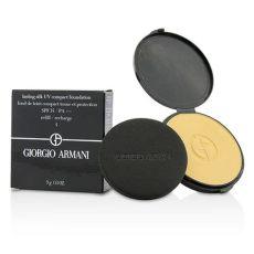 lasting silk uv compact foundation spf 34 refill 4 warm beige giorgio armani f c co usa - Lasting Silk Uv Compact Refill