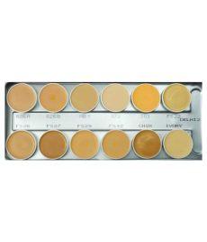 kryolan dermacolor palette price kryolan supracolor palette 12 in 1 delhi 2 40 ml buy kryolan supracolor palette 12 in 1