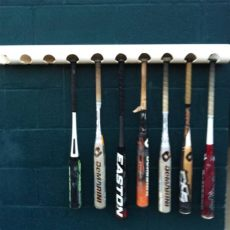baseball dugout bat holder creative baseball bat holder for dugouts recycled reuse product ideas