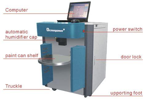 automatic paint dispenser color mixing machine computer paint