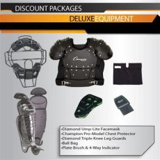 umpire equipment packages deluxe umpire equipment package purchase officials supplies
