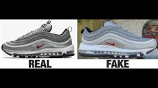 replicas nike air max 97 how to spot nike air max 97 sneakers trainers authentic vs replica comparison