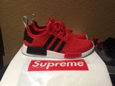 adidas nmds r1 unboxing plus supreme goodies - Supreme Nmds Red