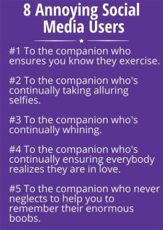 8 annoying social media users social media relationships social media attention seekers - Annoying Attention Seeker Quotes