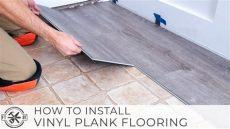 vinyl deck flooring installation how to install vinyl plank flooring as a beginner home renovation