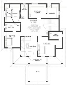 one storey house with roof deck floor plan amazingly beautiful one storey with roof deck eplans