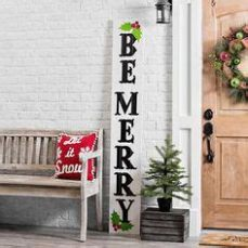 porch board christmas product details white merry porch board stenciled signs porch outdoor
