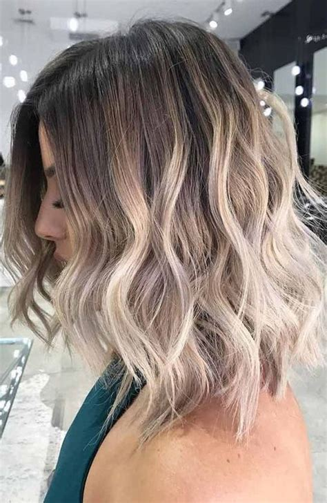 normal hair color trends short hairstyles 2018 short