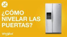 refrigeradores whirlpool 191 c 243 mo nivelar las puertas de tu side by side de 22 a 30 p 179 - Como Nivelar Un Refrigerador Whirlpool