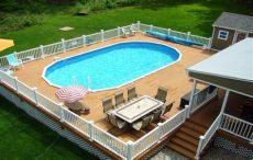 above ground pool deck plans oval pin by vickers on for the home pool deck plans swimming pool decks above ground pool