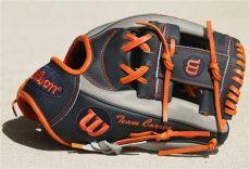 wilson shortstop gloves what pros wear carlos correa s wilson a2000 cc1 1787 glove what pros wear