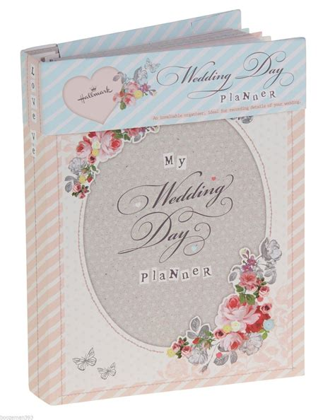 hallmark vintage wedding planner book diary journal organiser