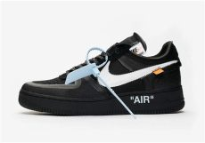 where to buy the white x nike air 1 low quot black quot house of heat sneaker fiends since - Off White X Nike Air Force 1 Black White