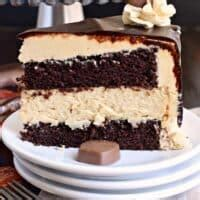 chocolate peanut butter cheesecake cake dove chocolate