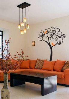 decoracion de salas pequenas modernas color naranja decoraci 243 n de salas de estar en color naranja salas color naranja chocolate decor