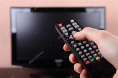 encender tv con remoto foto de stock 169 gielmichal 17602131 - Encender Tv Aoc Sin Control