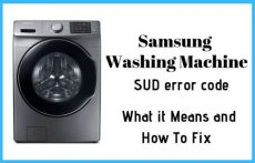 error sud en lavadora samsung solved samsung washer sud or 5ud error code how to fix it