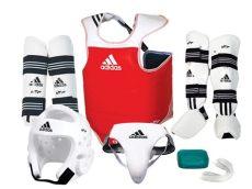 adidas taekwondo kit adidas complete sparring gear set